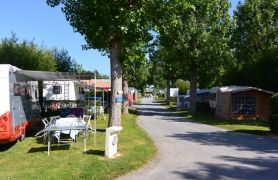 Campsite France Vendee, Emplacements caravanes