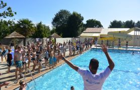 Campsite France Vendee, Aquagym